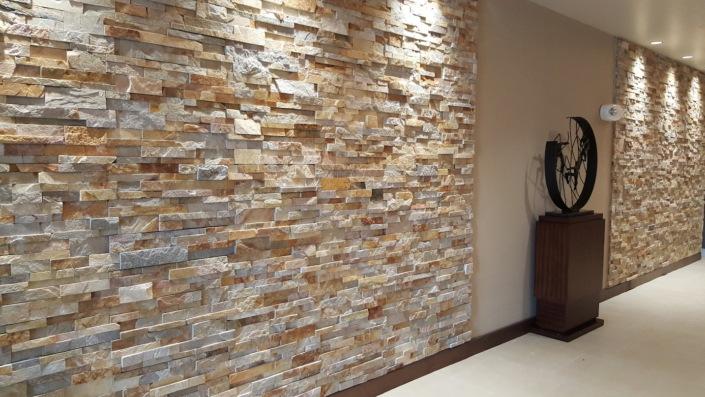 natural tile wall