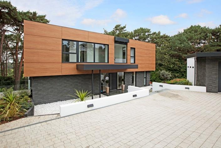 residential natural stone facade