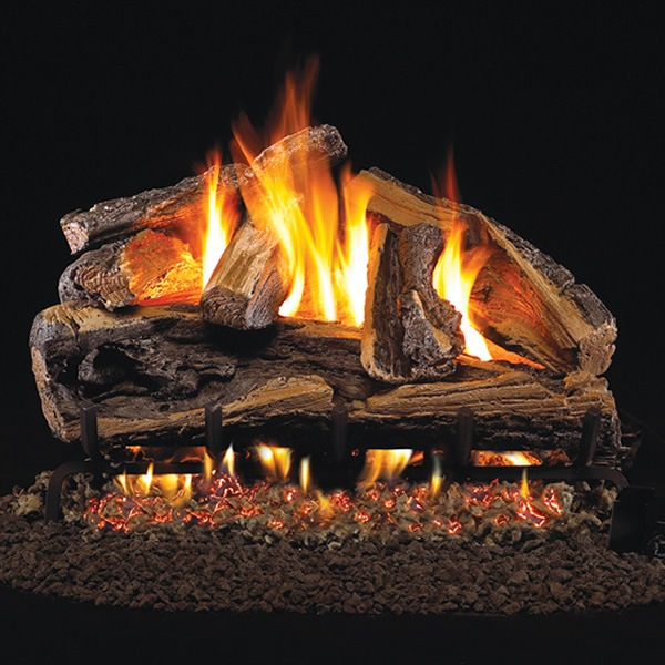 gas fire logs