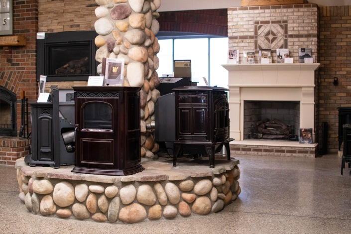 fireplace showroom