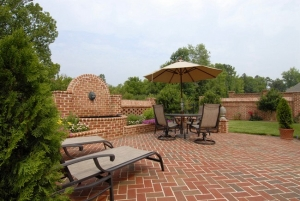Pine Hall Brick Patio Pavet
